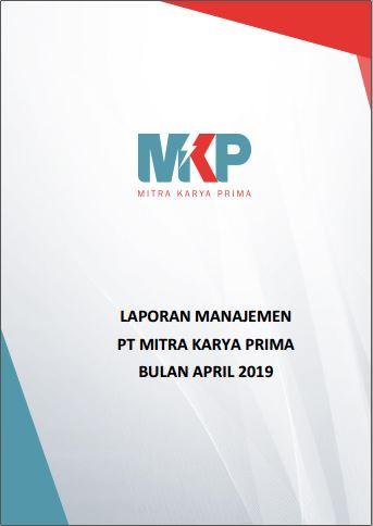 Download Laporan Manajemen April 2019