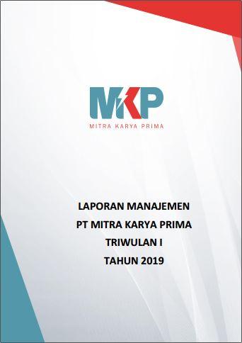 Download Laporan Manajemen Triwulan I 2019
