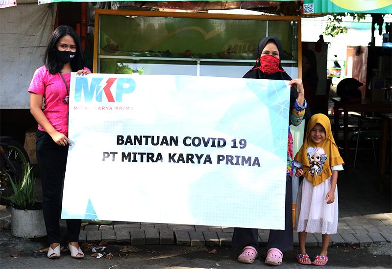 PT Mitra Karya Prima Perangi COVID-19